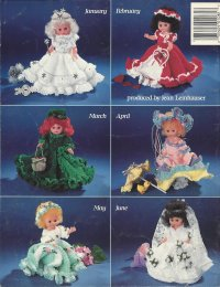 A Doll-A-Month Crochet Collection Volume One: January - June