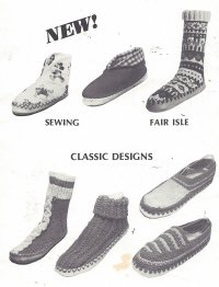 Do-It-Yourself Slipper Sox
